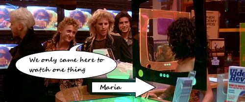 Maria in The Lost Boys
